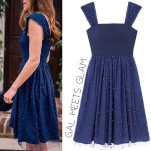 NWT Gal meets Glam Navy Tulle Dress - 4
